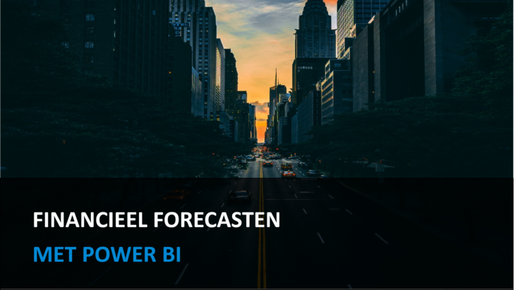 Financieel Forecasten met Power BI