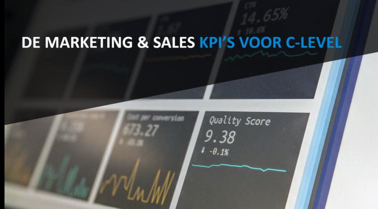 De Marketing & Sales KPI's voor C-level
