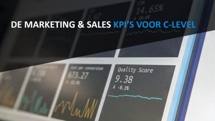 De Marketing & Sales KPI's voor C-level