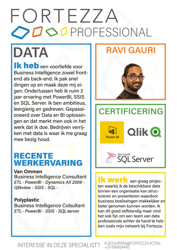 Fortezza data professional Ravi