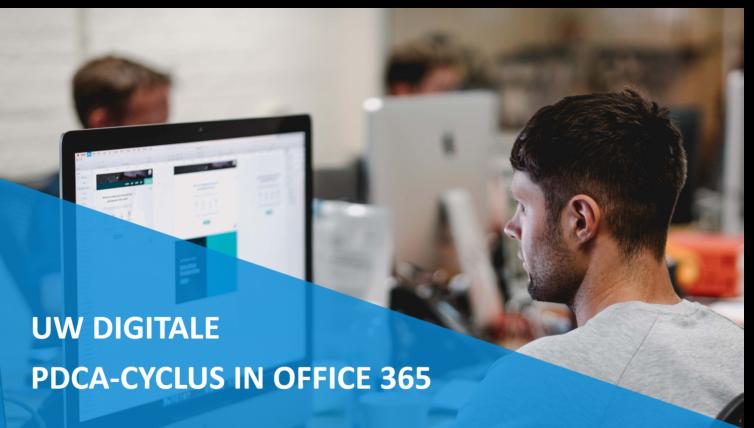 Uw digitale PDCA-cyclus in Office 365