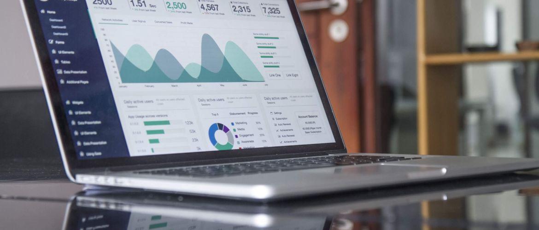 data gedreven werken op laptop