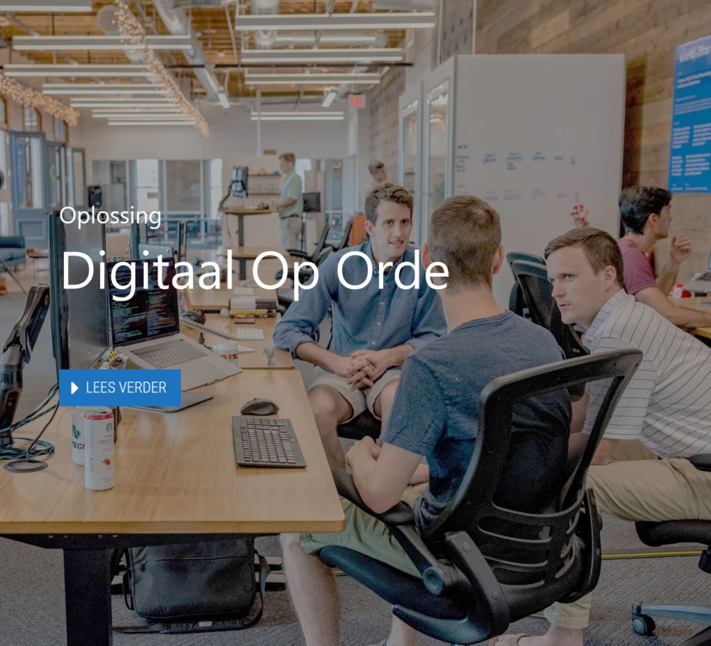 Digitaal op orde