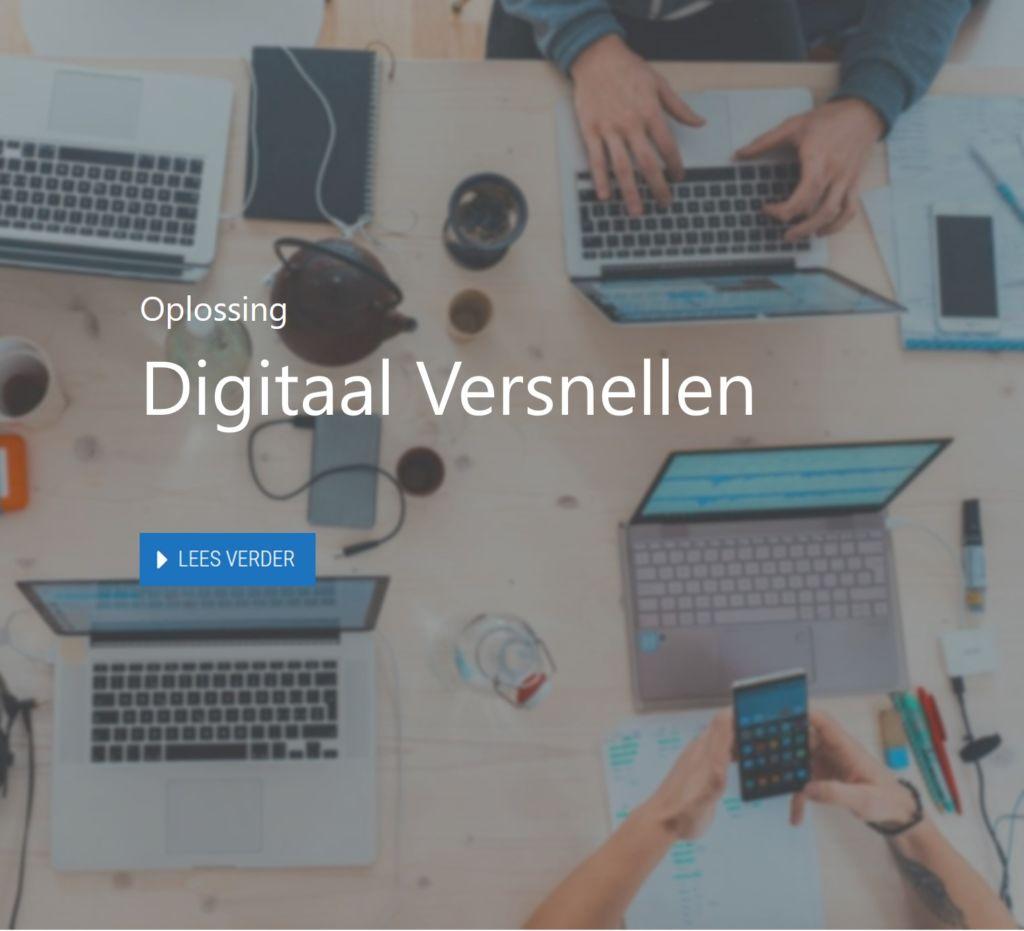 digitaal versnellen